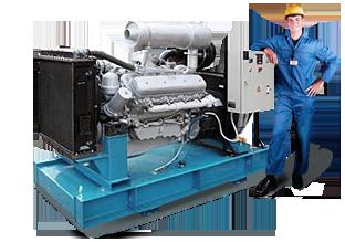 Ремонт и техническое обслуживание (ТО) дизельных генераторов и компрессоров